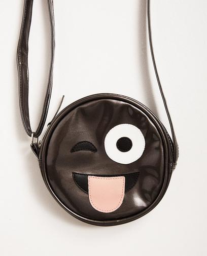 Kleine Tasche im Metallic-Look